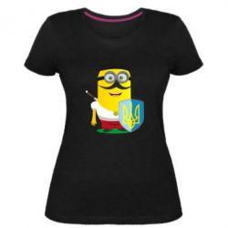Жіноча стрейчева футболка Mignon Cossack Patriot