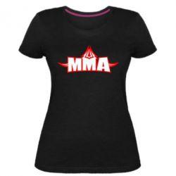 Жіноча стрейчева футболка MMA Pattern