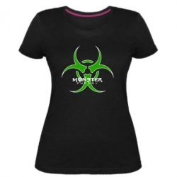 Жіноча стрейчева футболка Monster Energy Biohazard