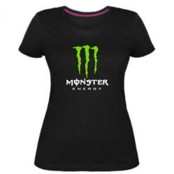 Жіноча стрейчева футболка Monster Energy Classic