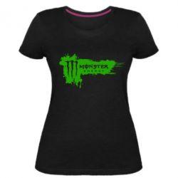 Жіноча стрейчева футболка Monster Energy Drink