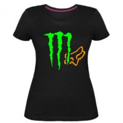 Жіноча стрейчева футболка Monster Energy FoX