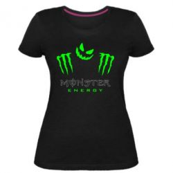 Жіноча стрейчева футболка Monster Energy Halloween
