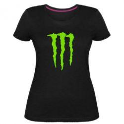 Жіноча стрейчева футболка Monster Lines