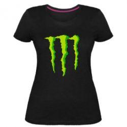 Жіноча стрейчева футболка Monster Stripes