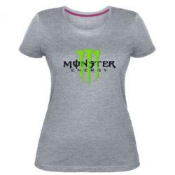 Женская стрейчевая футболка Monter Energy Classic