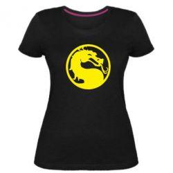 Женская стрейчевая футболка Mortal Combat - FatLine