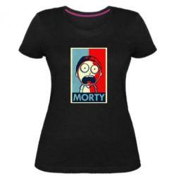 Жіноча стрейчева футболка Morti