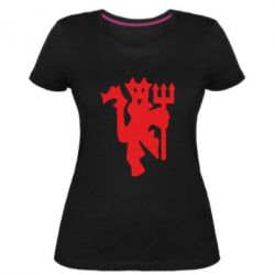 Жіноча стрейчева футболка MU