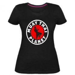 Жіноча стрейчева футболка Muay Thai Planet