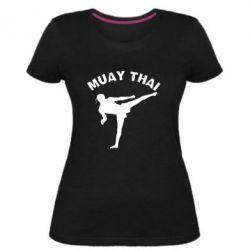 Жіноча стрейчева футболка Muay Thai
