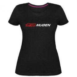 Жіноча стрейчева футболка Mugen Logo