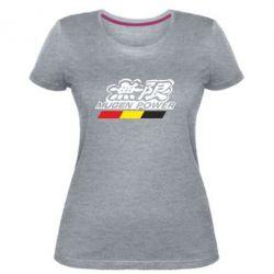 Женская стрейчевая футболка Mugen Power
