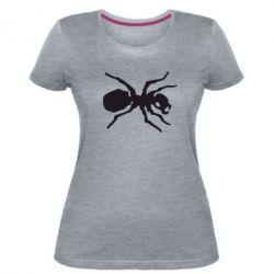 Жіноча стрейчева футболка Мураха