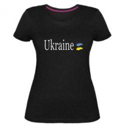 Жіноча стрейчева футболка My Ukraine