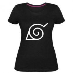 Жіноча стрейчева футболка Натуро