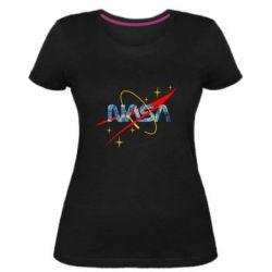 Жіноча стрейчева футболка Nasa Wan Gogh