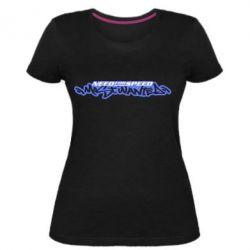 Женская стрейчевая футболка NFS Most Wanted