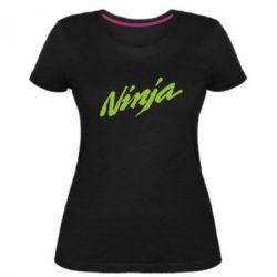 Женская стрейчевая футболка Ninja