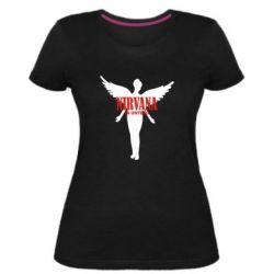 Женская стрейчевая футболка Nirvana In Untero