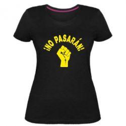 Жіноча стрейчева футболка No Pasaran