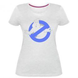 Женская стрейчевая футболка Охотники за привидениями