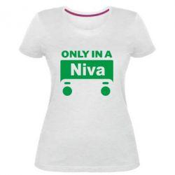 Женская стрейчевая футболка Only Niva