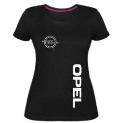 Жіноча стрейчева футболка Опель
