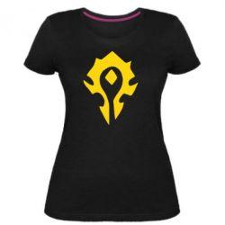 Жіноча стрейчева футболка Орда