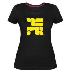 Женская стрейчевая футболка Оу74 Танкоград - FatLine