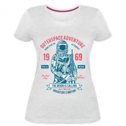 Жіноча стрейчева футболка Outerspace Adventure 69
