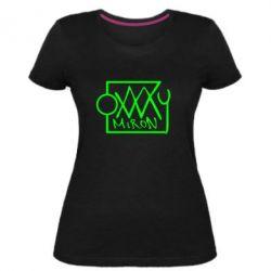 Женская стрейчевая футболка OXXXY Miron