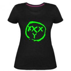 Женская стрейчевая футболка Oxxxy