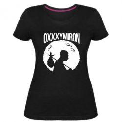 Женская стрейчевая футболка Oxxxymiron Долгий путь домой