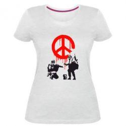 Жіноча стрейчева футболка Pacific