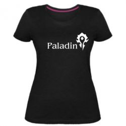 Женская стрейчевая футболка Paladin