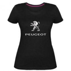 Жіноча стрейчева футболка Пежо