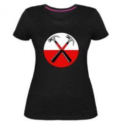 Жіноча стрейчева футболка Pink Floyd Main Logo