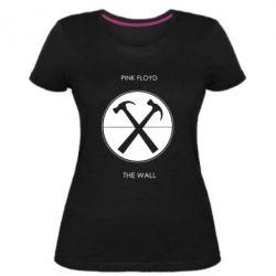 Жіноча стрейчева футболка Pink Floyd The Wall