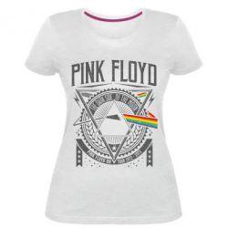 Жіноча стрейчева футболка Pink Floyd