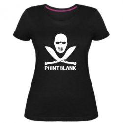 Женская стрейчевая футболка Point Blank - FatLine