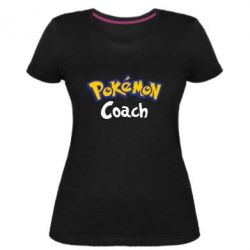 Жіноча стрейчева футболка Pokemon Coach