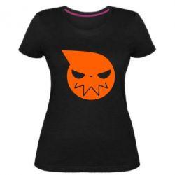 Жіноча стрейчева футболка Пожирач душ