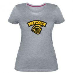 Жіноча стрейчева футболка Pretorian