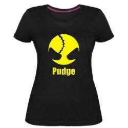 Женская стрейчевая футболка Pudge - FatLine