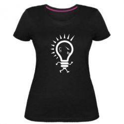 Жіноча стрейчева футболка Punk3