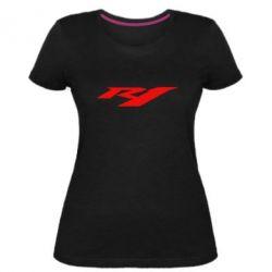 Женская стрейчевая футболка R1 - FatLine
