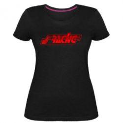Жіноча стрейчева футболка Racing
