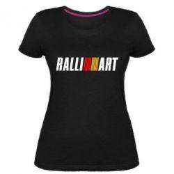 Женская стрейчевая футболка Ralli Art Small
