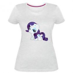 Жіноча стрейчева футболка Rarity small